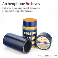 Edison Blue Amberol Records
