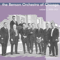The Benson Orchestra of Chicago, 1920-1921 border=