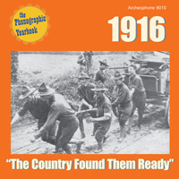"1916: ""The Country Found Them Ready"" border="